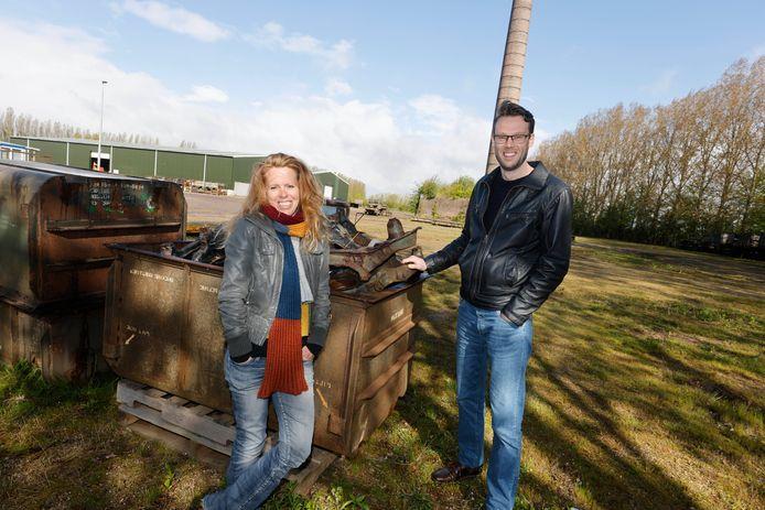 Eva de Boer en Rutger Soons van Wijland Woonpioniers: 'Ons hart gaat sneller slaan van de Reomie-locatie.'