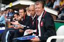 Erik ten Hag in 2008 als assistent naast hoofdtrainer Steve McClaren.