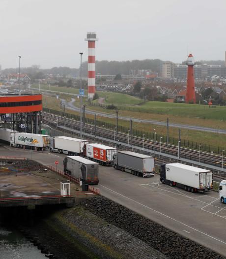 Voorlopig geen opstoppingen bij ferryterminals na brexit