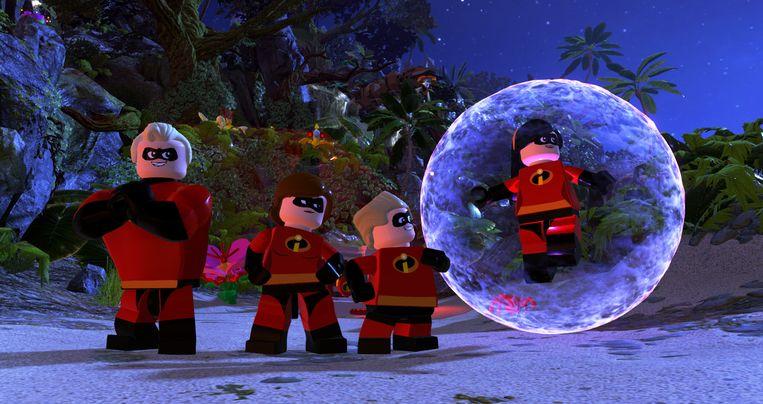 De cast van het beste wat er voorlopig nog te scoren valt:  'LEGO The Incredibles'. Beeld WB Games