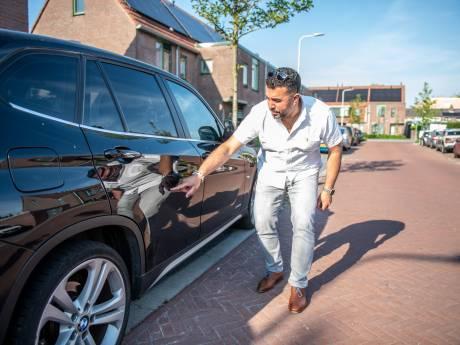 Mohammeds BMW werd negen keer bekrast: 'Praat met me, maar blijf van mijn auto af'