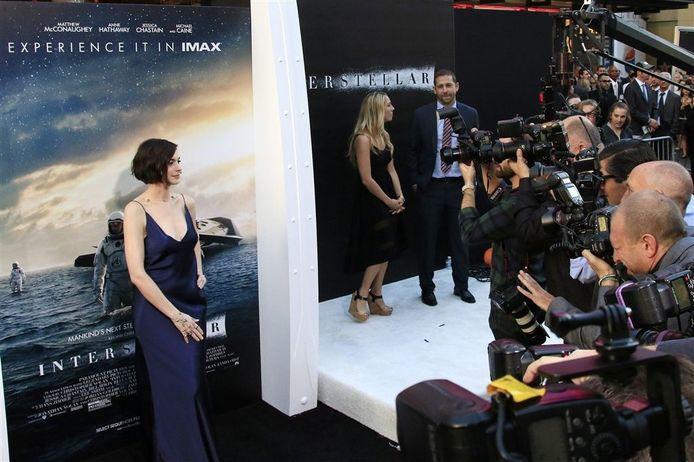 Interstellar-hoofdrolspeelster Anne Hathaway. EPA