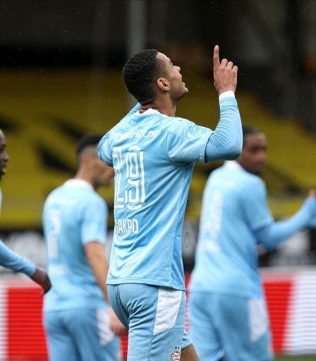 Gakpo voelt zich steeds meer de oude bij PSV en droomt van EK: 'Een eer dat ik word genoemd'