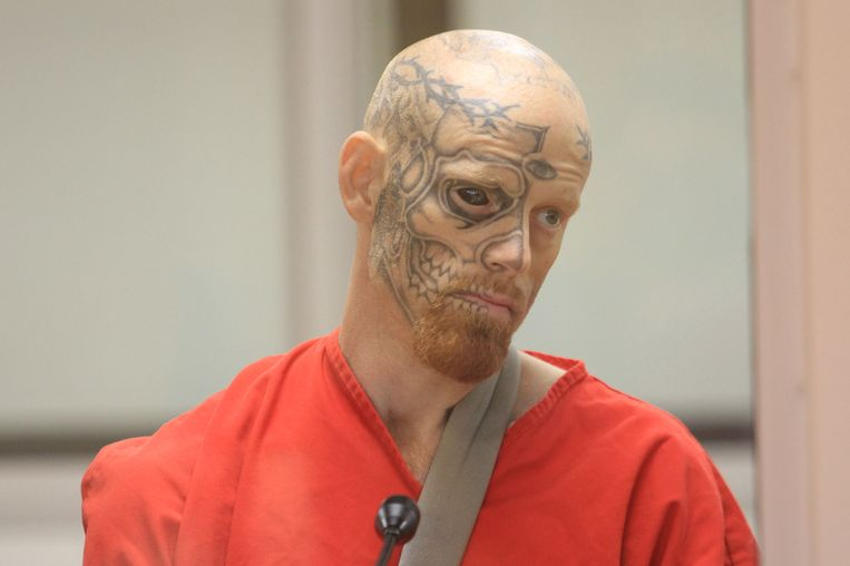 Crimineel Jason Barnum.