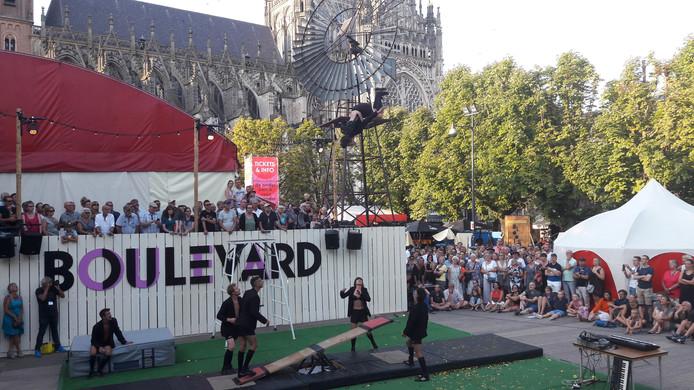 Theaterfestival Boulevard op de Parade in Den Bosch.