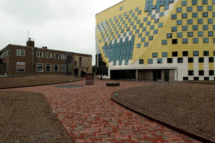 Het gemeentehuis van Hardenberg.