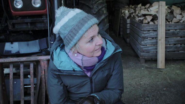 Annemie Struyf in 'Het hoge noorden'.  Beeld VRT