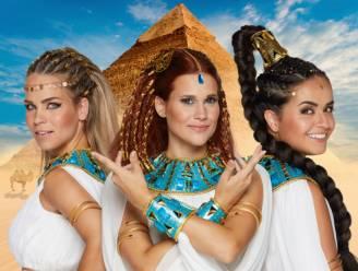 K3 lanceert videoclip voor 'Dans Van De Farao'