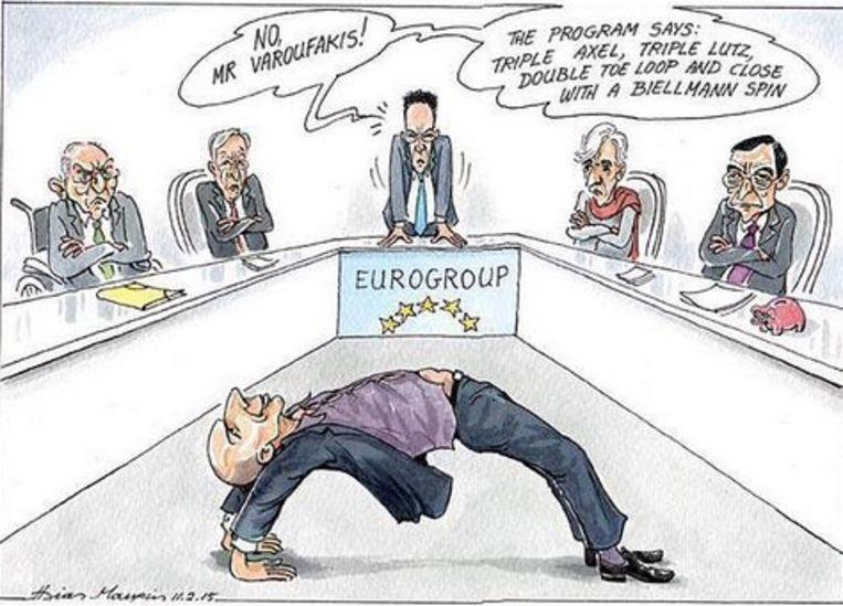 Griekenland op Twitter: redelijke eisen Beeld .