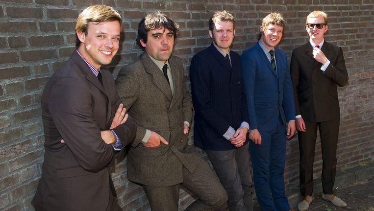 De Rotterdamse beatband The Kik. Beeld anp