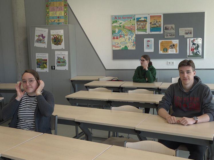 Laatste schooldag examenleerlingen anders dan anders