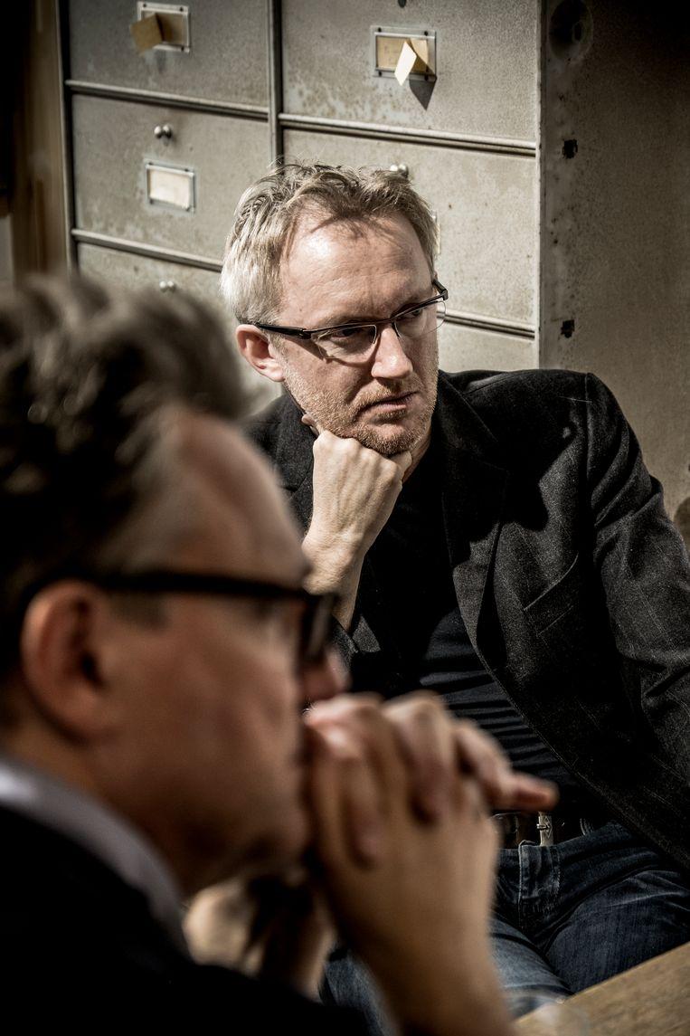 Dubbelinterview intellectuelen Van Reybrouck & Loobuyk Beeld Diego Franssens