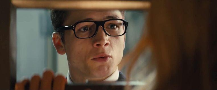 Taron Egerton in 'Kingsman: The Secret Service' van Matthew Vaughn. Beeld