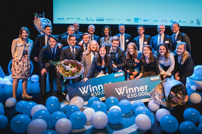 Uitreiking van de Philips Innovation Awards.