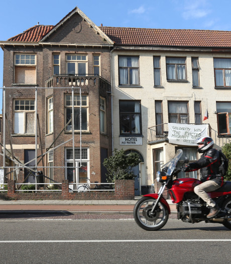 Bewoners schrikken: oude villa's Scheveningen maandag gesloopt