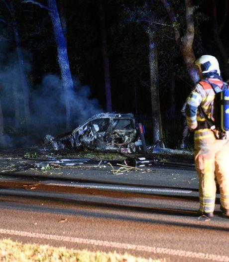 Zware crash op N237 bij De Bilt wordt man (18) uit Den Dolder noodlottig