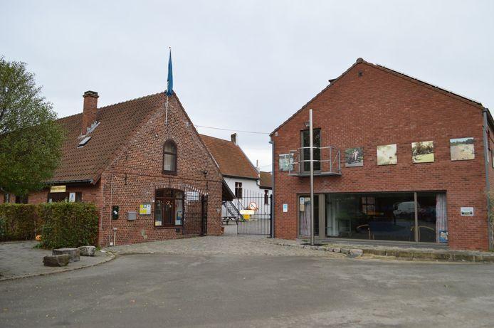 Jeugdherberg 't Schipken aan provinciaal domein De Gavers in Onkerzele (Geraardsbergen).
