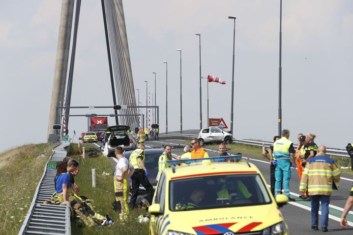 Het tragische ongeluk op de N50.