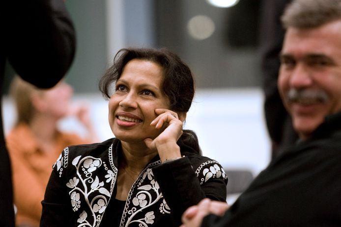 Haseena Bakhtali van de Nieuwegeinse partij Nùwegein.