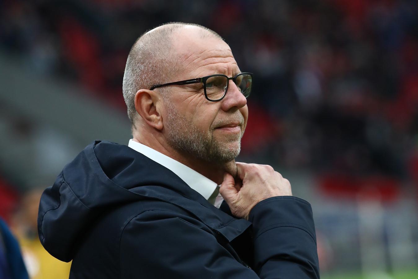 Fred Grim geniet van de manier van voetballen van RKC Waalwijk.