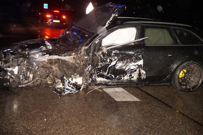 Zwaar ongeluk op de N267 waarbij één iemand gewond raakte.