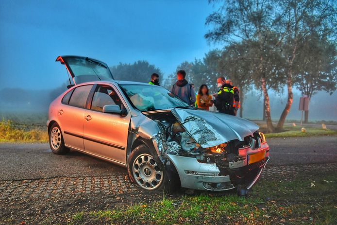 Ongeluk in Bergeijk.