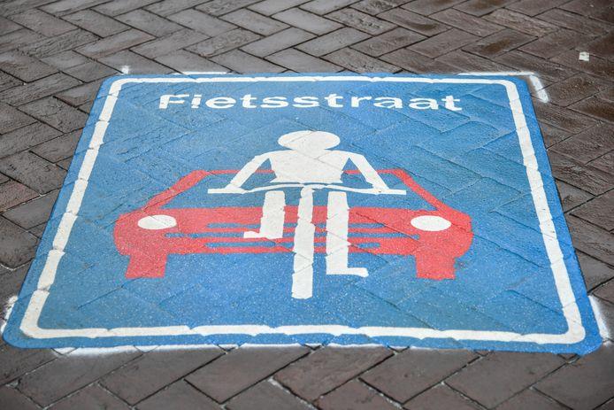 Een deel van de Sint-Jobsstraat wordt omgevormd tot fietsstraat