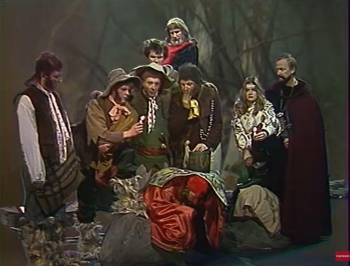 Een beeld uit 'Chraniteli', een adaptatie van 'The Lord of the Rings' uit 1991