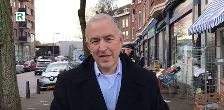 Ahmed Aboutaleb, de burgemeester van Rotterdam. Beeld rv