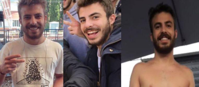 De vermiste student Etienne Mary (21).