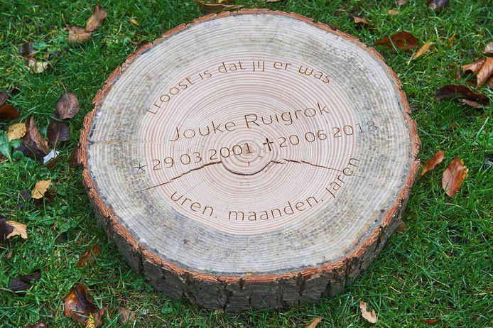 Jouke Ruigrok overleed in 2018 bij een ongeval op zijn we