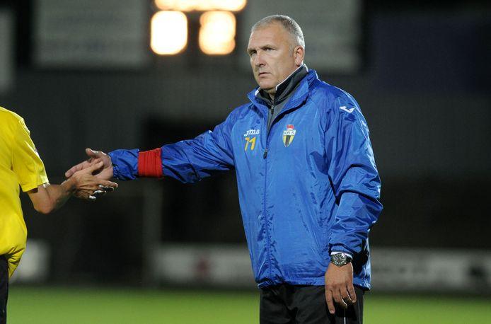 Eric Van Meir, trainer van Berchem in het seizoen 2014-2015.
