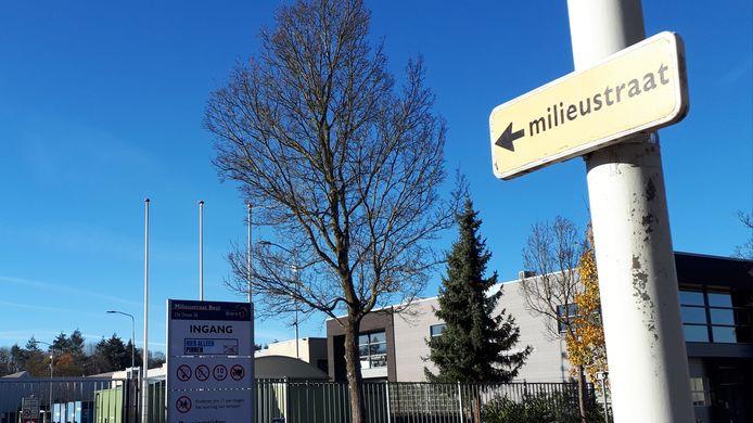 De milieustraat aan De Dieze in Best krijgt cameratoezicht.
