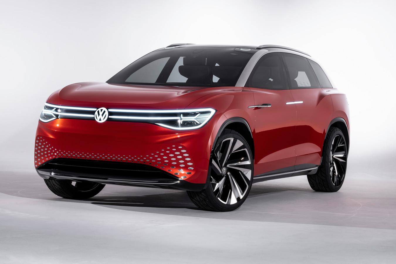 Later volgen meer ID-modellen, waaronder een SUV. Dit is een studiemodel voor zo'n auto.