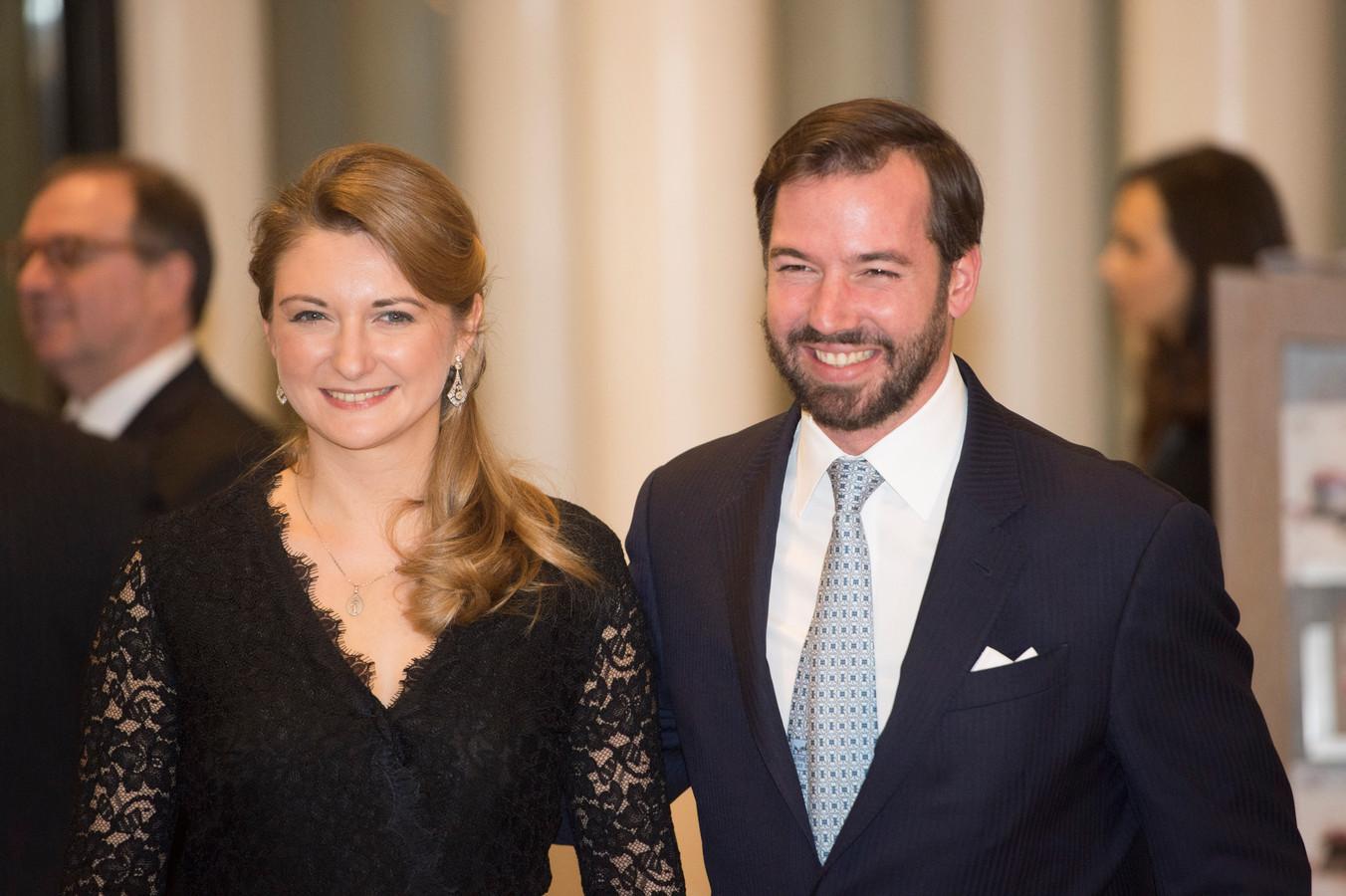 Le grand-duc héritier Guillaume de Luxembourg et son épouse Stéphanie attendent leur premier enfant après 7 ans de mariage