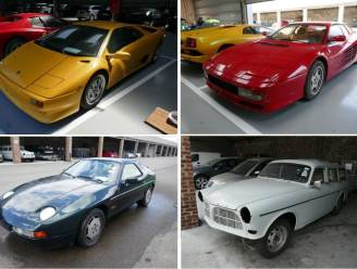 Van Lamborghini tot Ferrari's: Financiën verkoopt tien uitzonderlijke voertuigen