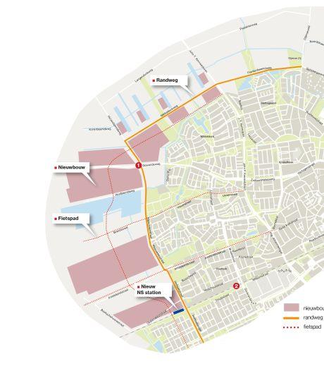 Gigantische nieuwe wijk Oss-West komt in drie blokken, misschien wel met eigen station