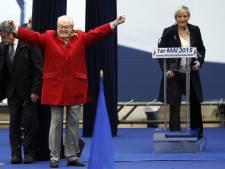 Jean-Marie Le Pen salue le succès du FN avec une vidéo d'un rival portant une kippa