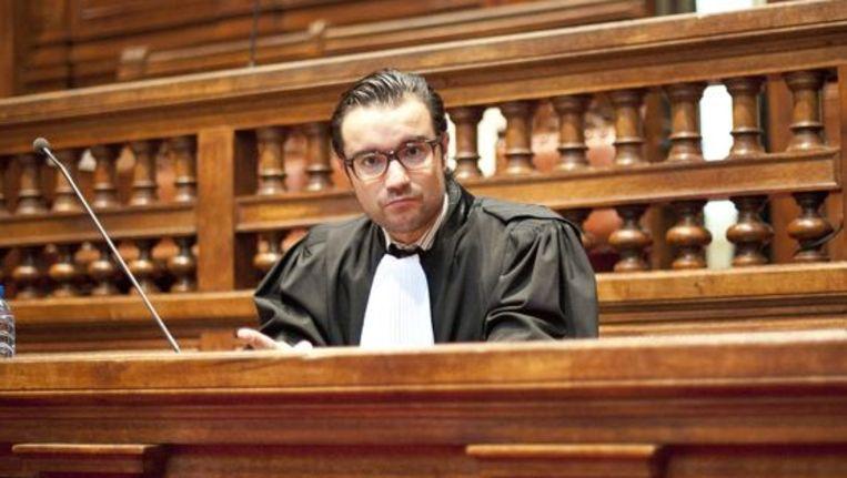 Advocaat Omar Souidi Beeld BELGA