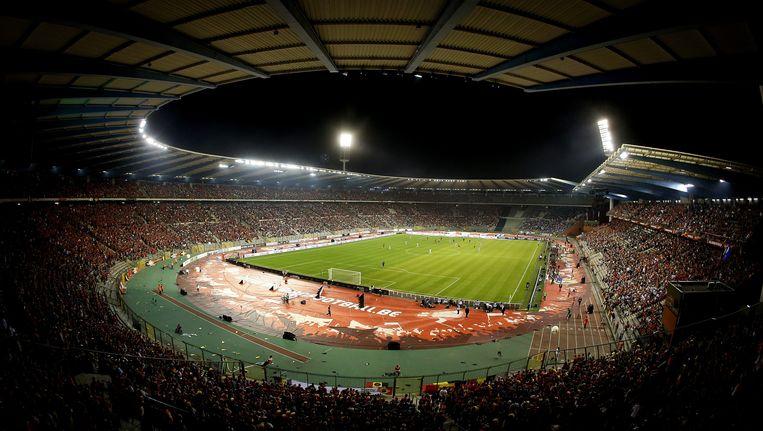 De Rode Duivels kunnen rekenen op een nokvol stadion voor de laatste oefeninterland op Belgische bodem tegen Tunesië.