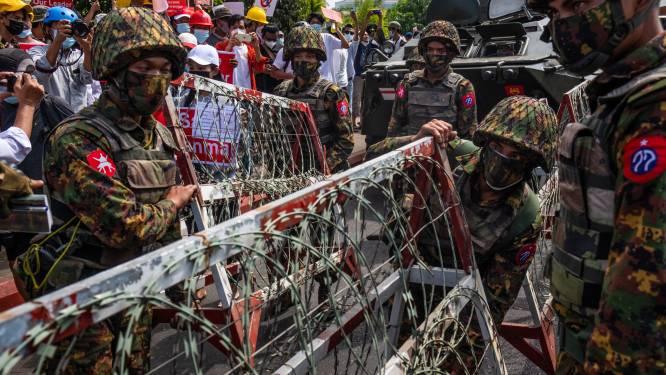 Junta Myanmar dreigt demonstranten met twintig jaar cel