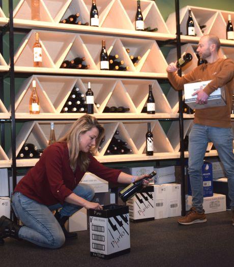 Wynshop met proeflokaal en wijnkluisjes op markant punt in Goirle