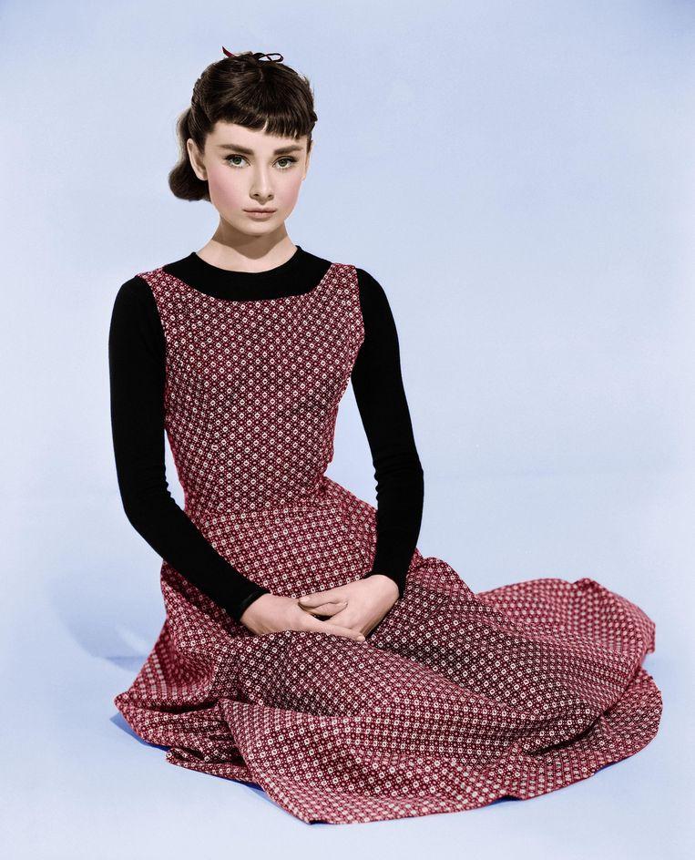 Audrey Hepburn in 1954. Beeld The Picture Desk
