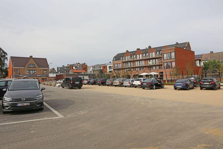 De Hopmarkt in Asse is de belangrijkste parking van het centrum.