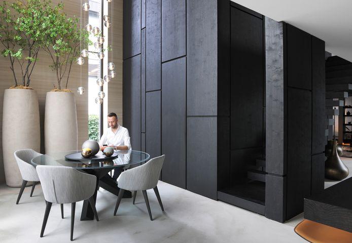 Andy bedacht samen met interieurarchitect Bart Appeltans een compleet nieuwe indeling voor het huis.