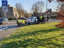 Automobilist maakt proefrit en schept fietser in Amersfoort