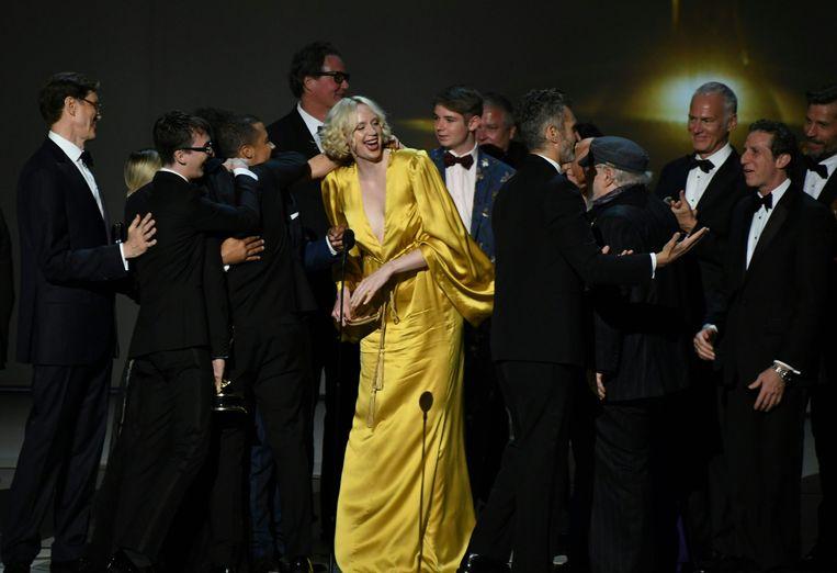 Wie waren de grote slokoppen op de Emmy Awards? Beeld AFP
