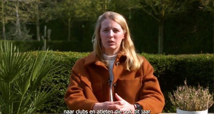Eline Verstraelen neemt de presentatie van de filmpjes voor haar rekening