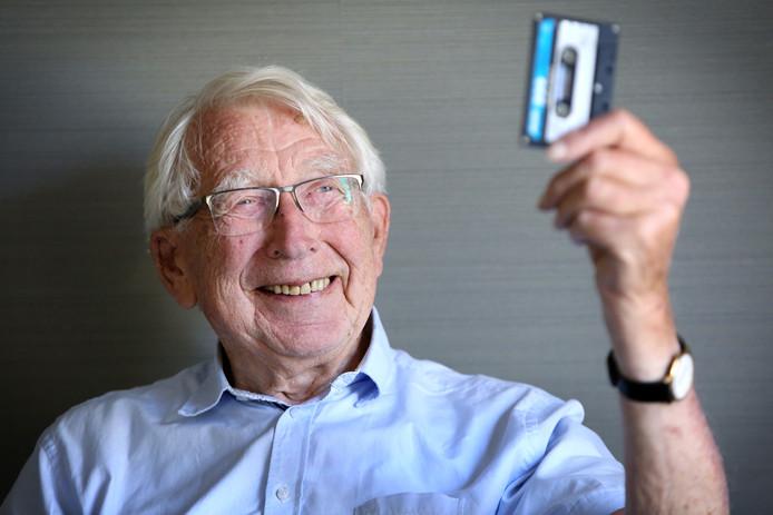 Lou Ottens (93), de uitvinder van onder meer de muziekcassette.