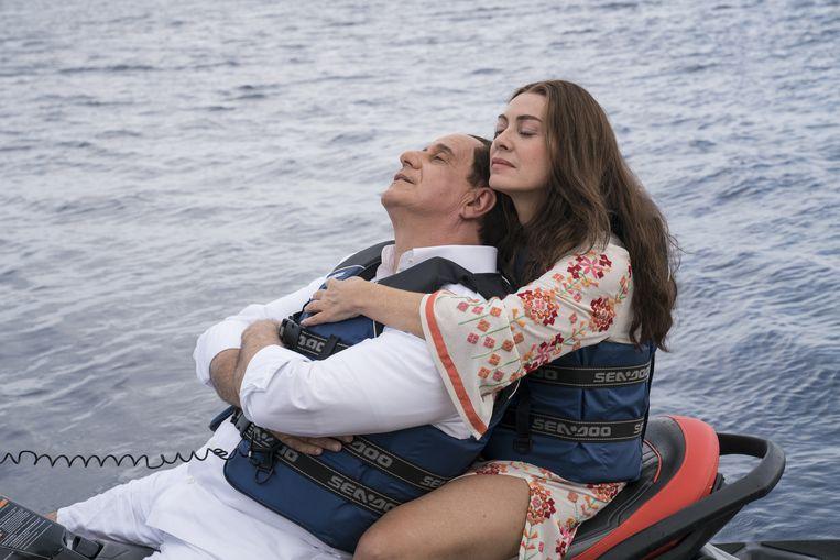 met Elana Sofia Ricci als Veronica Lario, Berlusconi's geliefde. Beeld Gianni Fiorito
